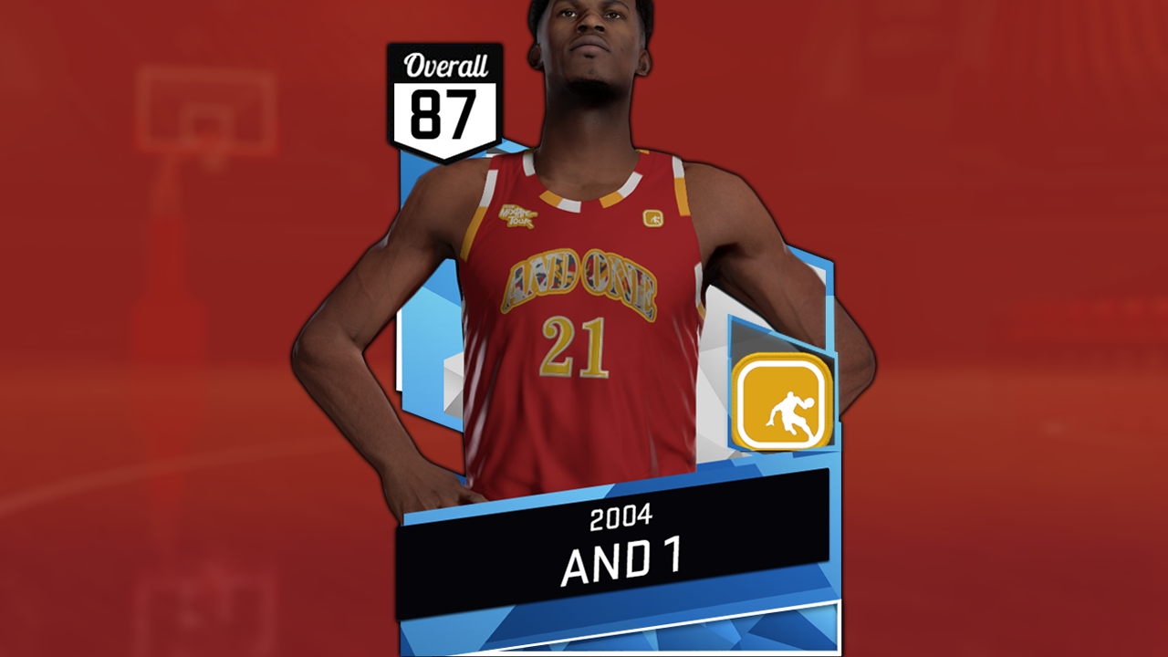dacb9a888049 NBA 2K16 2004 And1 Jersey Tutorial (Red   Blue) – NBA 2K19