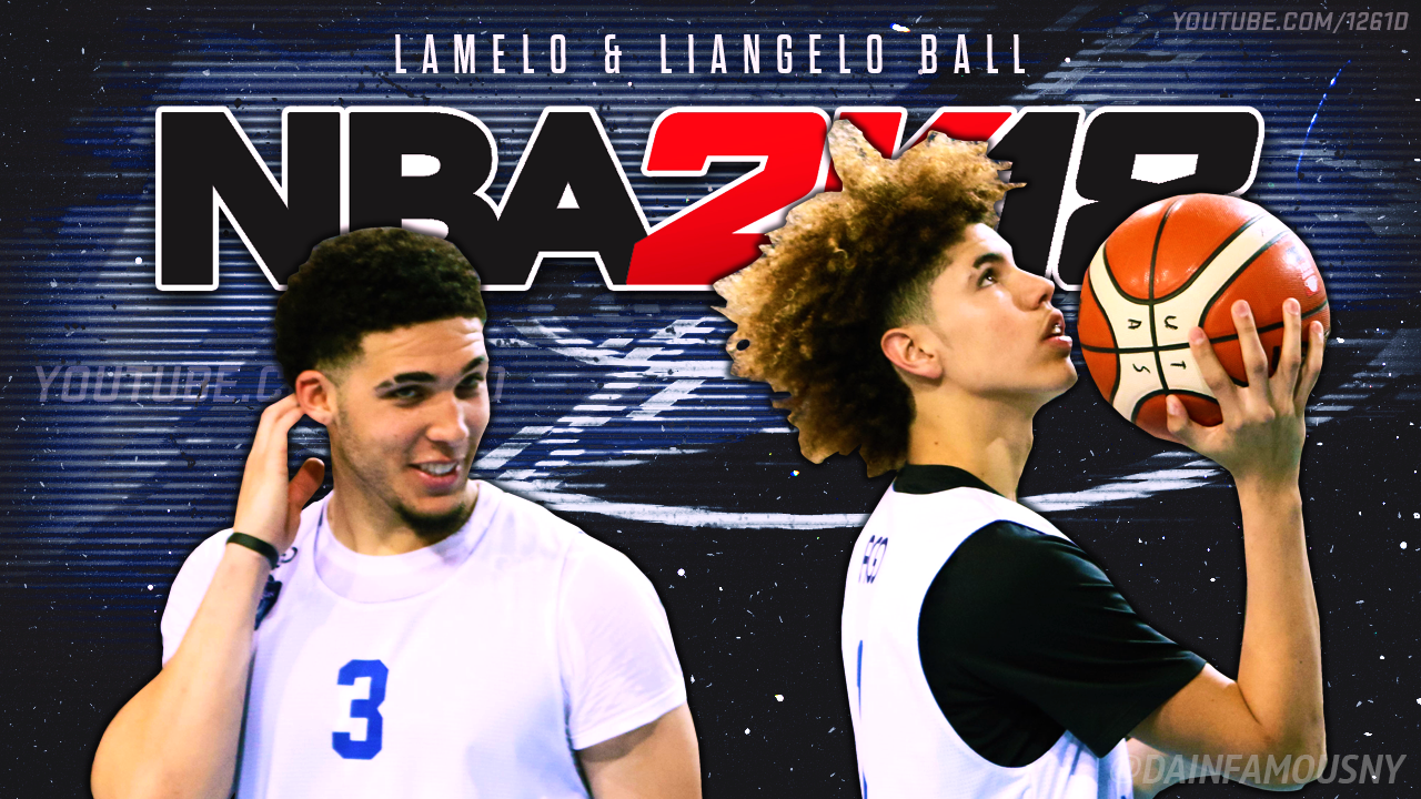 NBA 2K18 – How To Play With LaMelo Ball   LiAngelo Ball Lithuania Team  (PS4) – NBA 2K19 2b2eb7251
