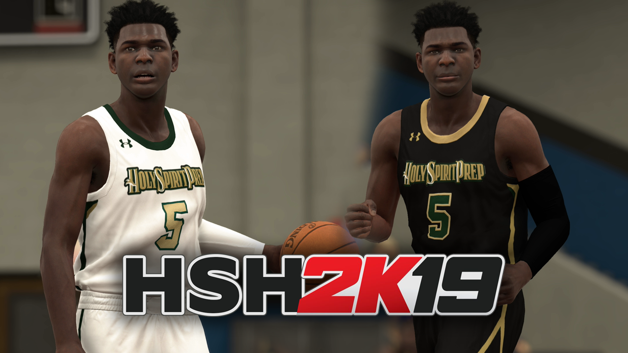 ca626d74ea7d NBA 2K19 – High School Hoops 2K19 – Anthony Edwards   Holy Spirit Prep –  NBA 2K19