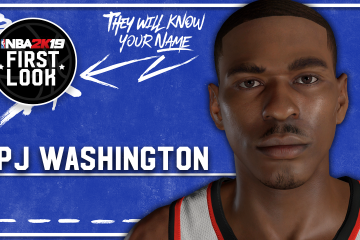 NBA 2K19 – How To Create Zion Williamson (Version 1) (Player