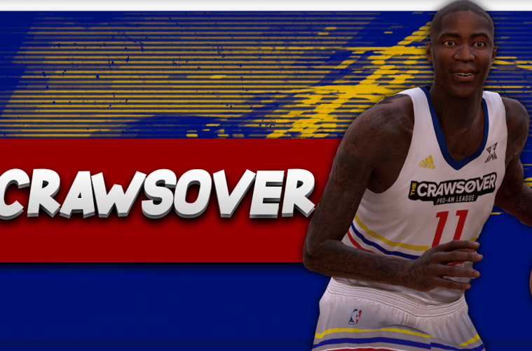 537fca96f40 NBA 2K17 – 2017 Jamal Crawford Crawsover (Seattle Pro Am) Jersey Tutorial