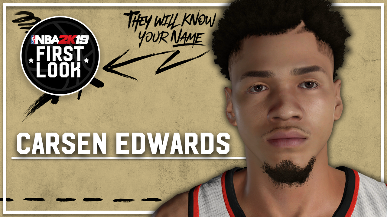 Nba 2k19 How To Create Carsen Edwards Realistic Jumpshot Nba 2k19